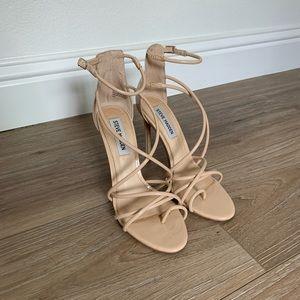 Steve Madden  beige heels. Size 6.5